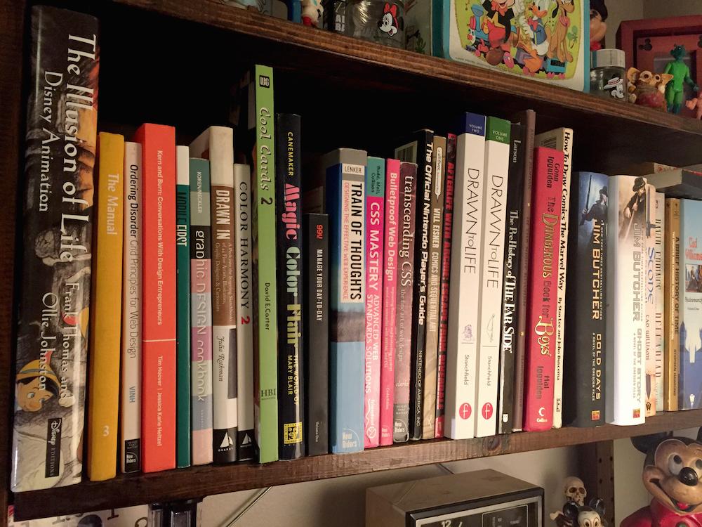 Danielherman bookshelf